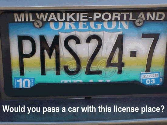 World's Scariest License Plate