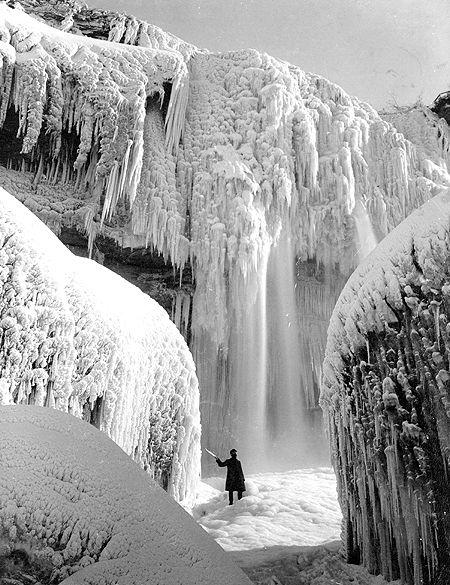 Niagara Falls 98 Years Ago