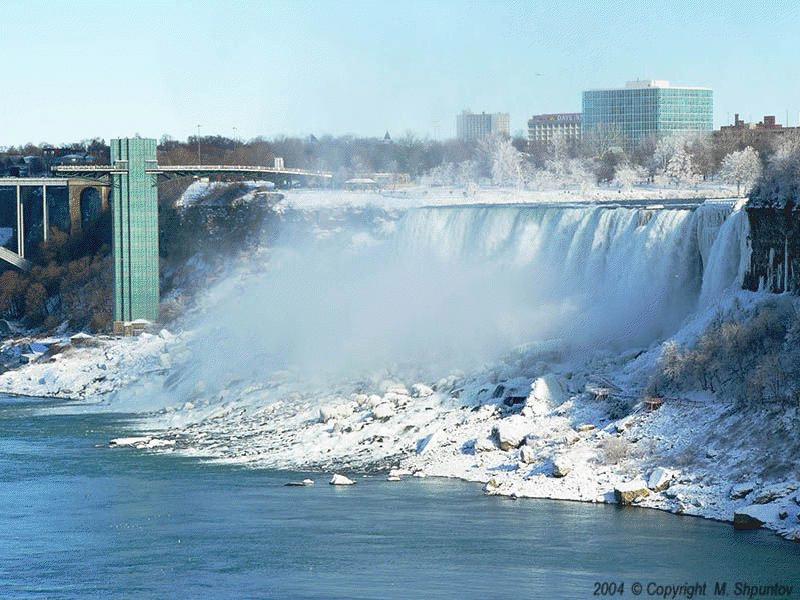 Frozen Niagara Falls | Welcome Home - Travel, Photography ... |Niagara Falls Frozen 2009