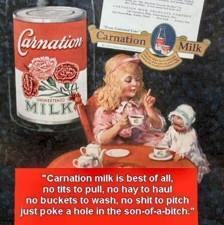 Carnation Milk Add 65 Years Ago